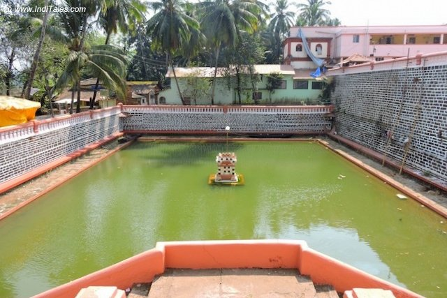 Tank at Shantadurga Temple, Goa