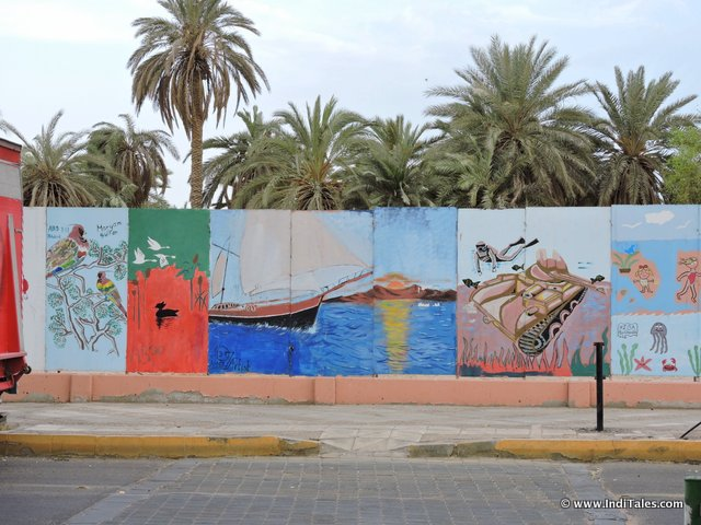 Street Art at Aqaba, Jordan