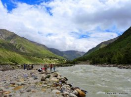 River Baspa at Chitkul, Sangla Valley, Himachal