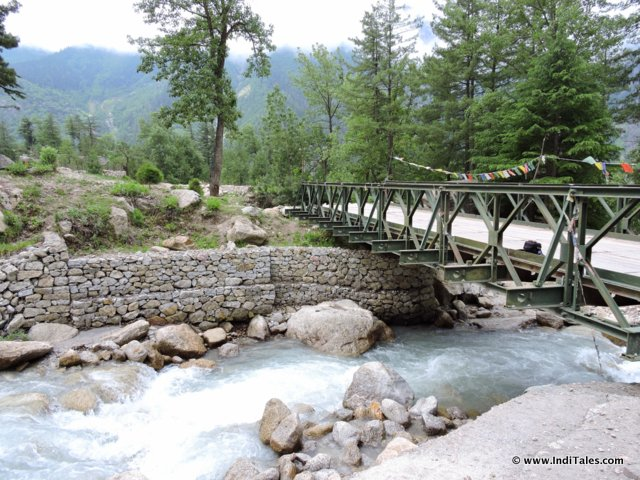 Bridge on Road to Chitkul
