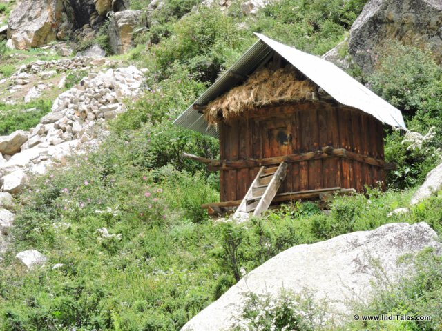 Stone & Wood hut of Sangla Valley, Himachal