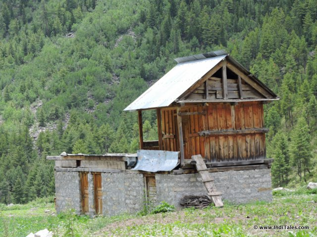 Himachal hut at Chitkul Sangla Valley