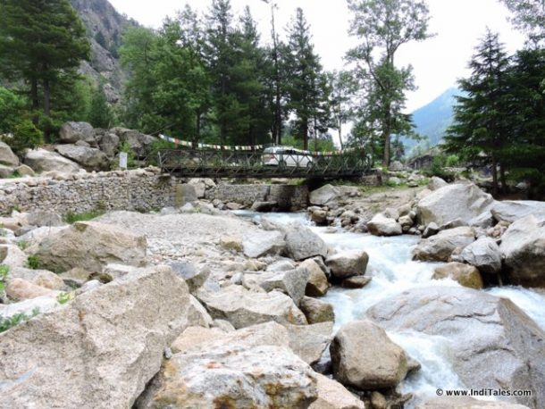 Himalayan streams that merge with Baspa