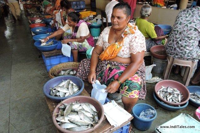 Fish market at Panjim