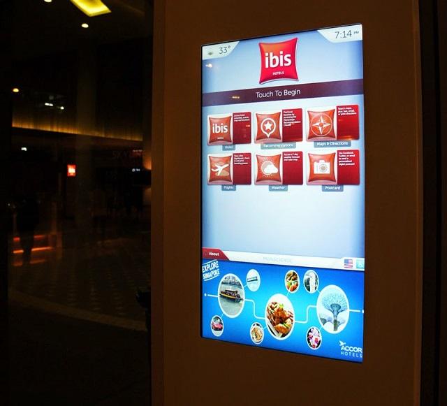 Help screen at Ibis Singapore on Bencoolen