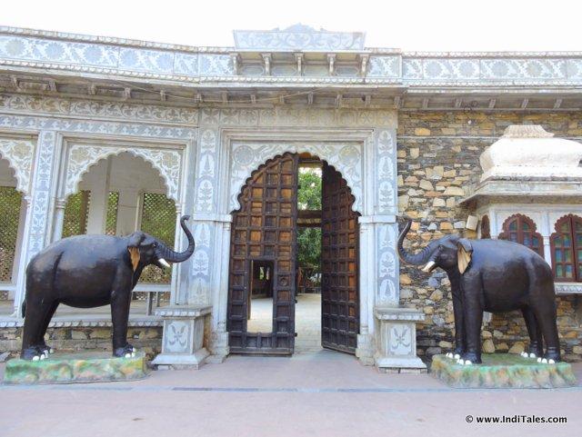 Inside Maharana Pratap Memorial, Haldighati