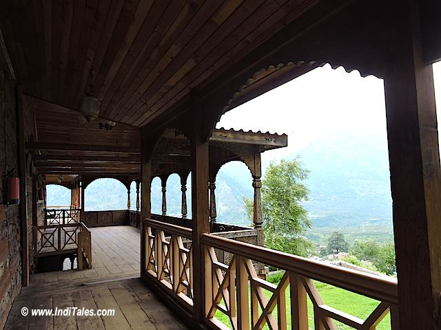 View from Naggar Castle