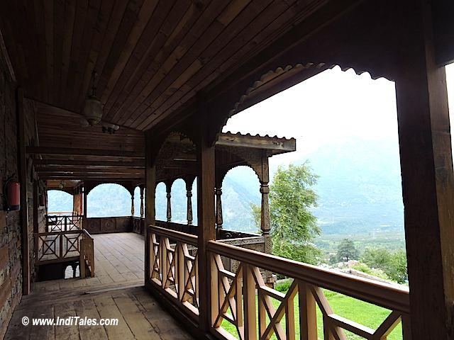 Naggar Castle Corridors, Spiti Valley