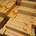 Durian Cake as souvenir from Singapore