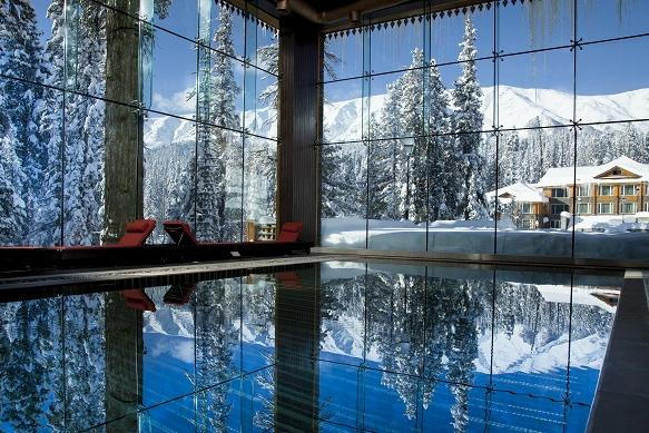 Most picturesque swimming pool I have seen