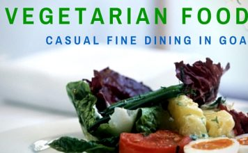 Vegetarian food in Goa