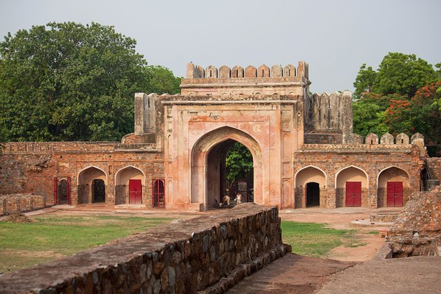 Arab Sarai Colony Gate, Humayun Tomb
