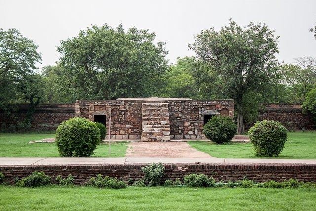 Bu Halima, Humayun Tomb complex