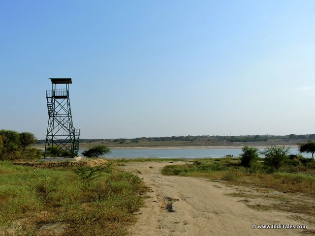 The watch tower by Chambal River