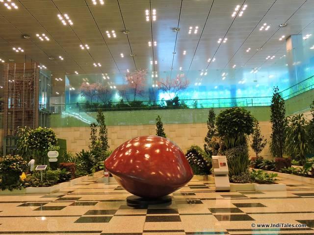 Saga Seed at Changi Airport Terminal 3