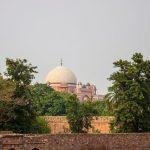 Humayun's dome from Arab Sarai