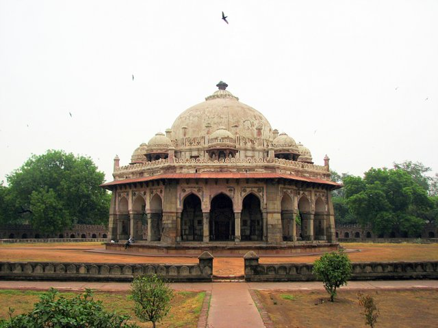 Isa Khan's Tomb at Humayun Tomb complex