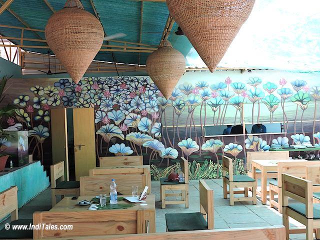 Goa Restaurants - Lotus Blossom, Anjuna, Goa