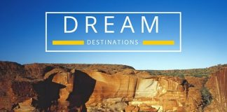 My dream destinations