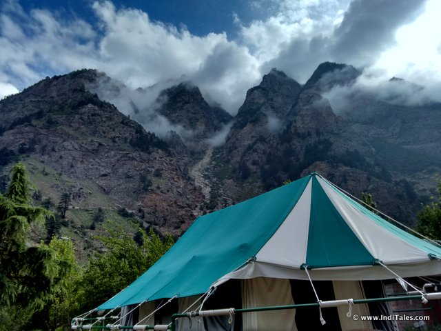 Banjara Camp next to Baspa in Sangla Valley