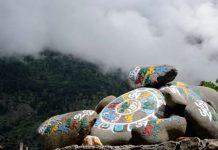 Prayer Stones at Sangla