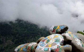 Prayer Stones at Sangla