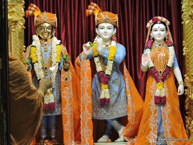 Idols at Swaminarayan Temple - Silvassa
