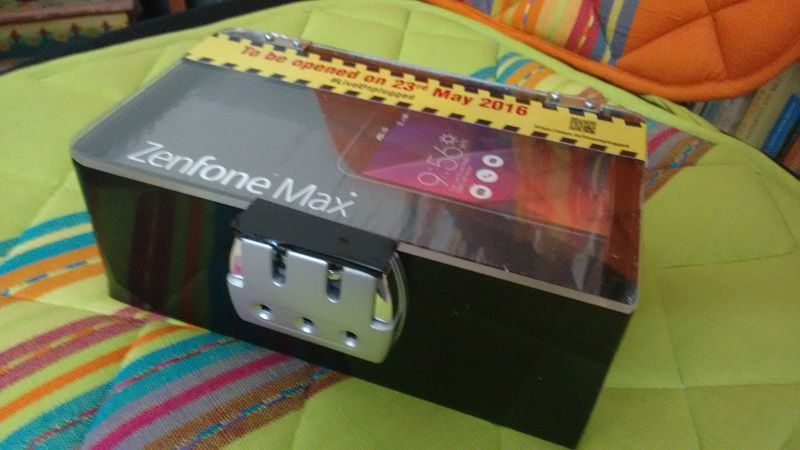 Asus zenfone max mystery box