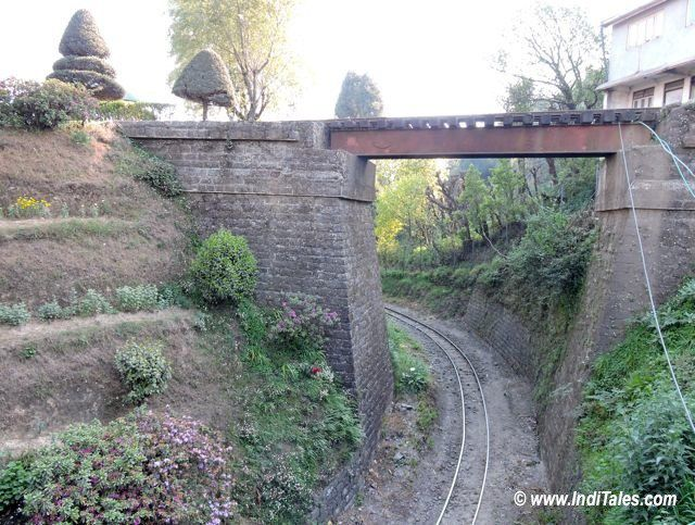 Batasia Loop Between Darjeeling & Ghum Station