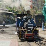 Darjeeling Himalayan Railway engine Toll in the station