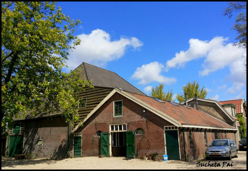 Farm House at Rembrandt Hoeve near Amsterdam