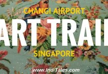 Art Trail at Changi Airport, Singapore