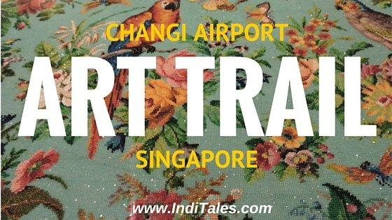 Art Trail at Changi Airport, Singapore
