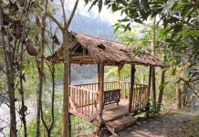 Outdoor Bamboo Gazebo