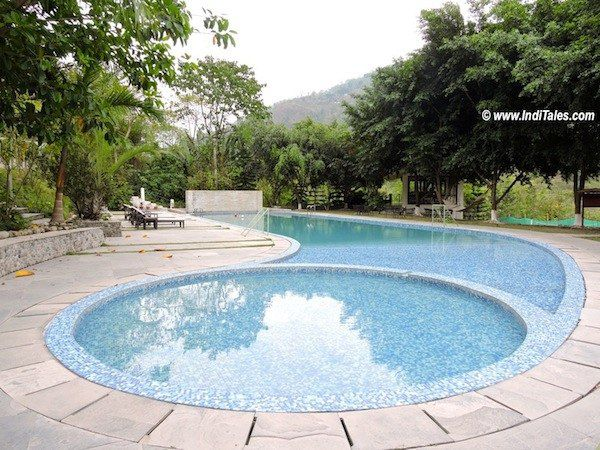 Swimming Pool at Club Mahindra, Baiguney