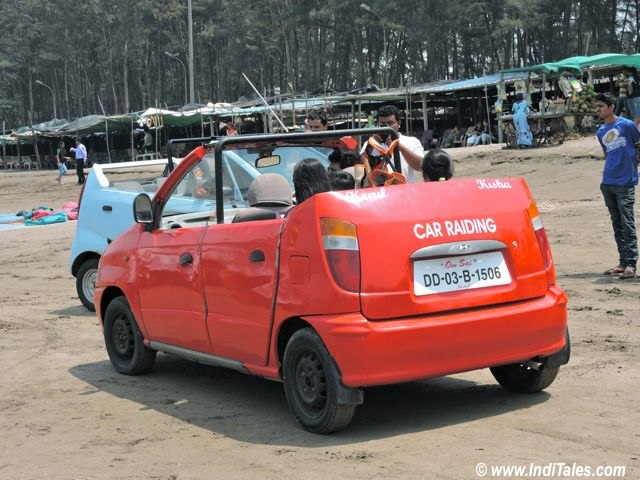 Car Racing at Jampore Beach, Daman India