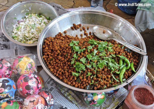 Chana Chaat, Jampore Beach, Daman