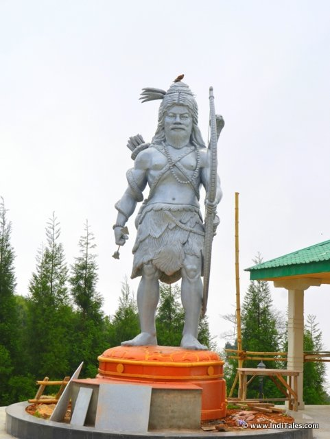 Kirateshwar Mahadev statue at Chardham, Namchi