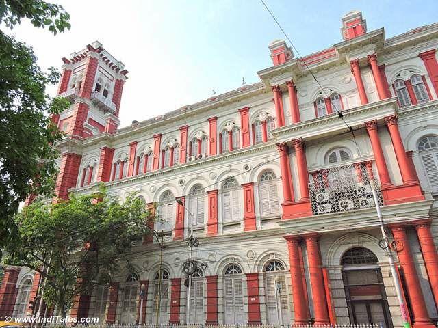 Red & White Dead Letter Office, Calcutta