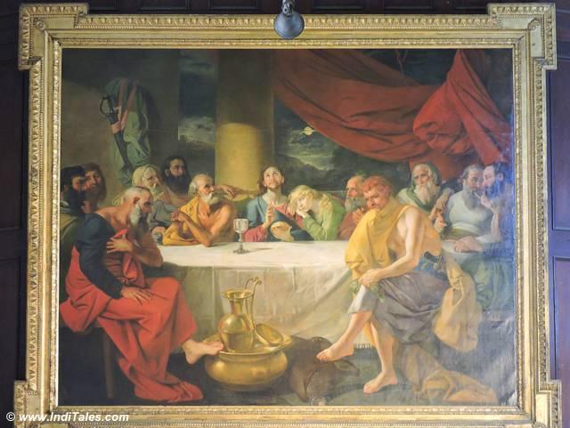 Last Supper Painting at St John's Church, Calcutta Heritage Walk