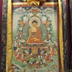 Buddha Tangka Painting as Sikkim souvenir