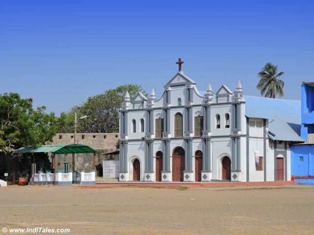 Our Lady of the Sea Church, St Jerome Fort, Daman