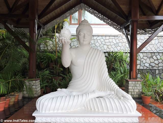 Buddha statue at Mayfair Gangtok