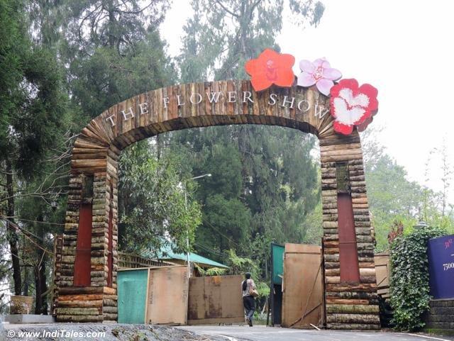 Flower Show at Gangtok city