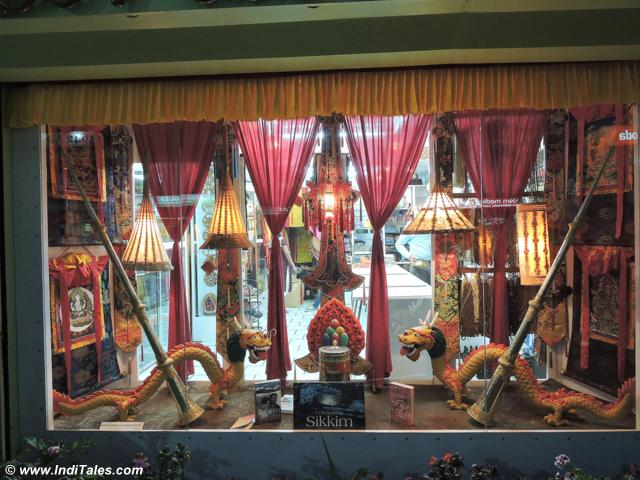 Souvenir shop at M G Marg