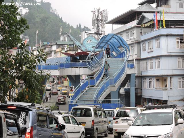 Sky Walk at Gangtok city
