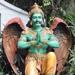 Garuda statue at Mayfair Gangtok