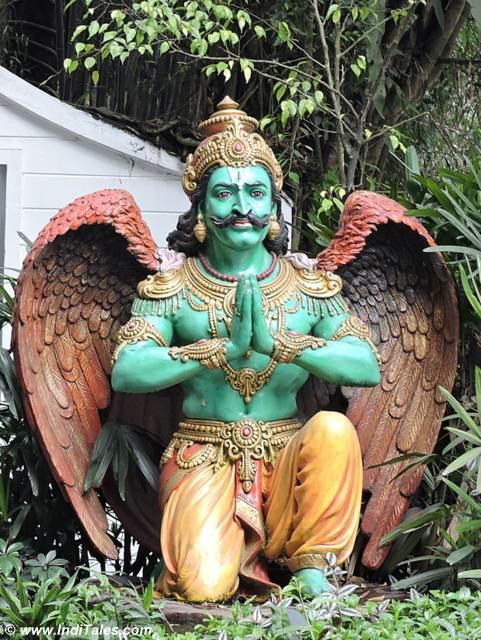 Garuda statue at Mayfair Gangtok