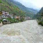 Parvati River at Manikaran, Himachal Pradesh