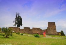 Rabdentse Palace ruins at Pelling Sikkim